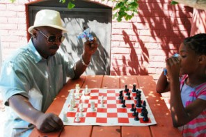 Air Force veteran teaches thinking and life skills through chess and art