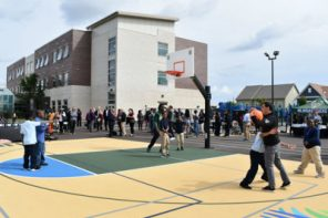 Check out the new Bucks-built sports complex at MPS' Browning Elementary